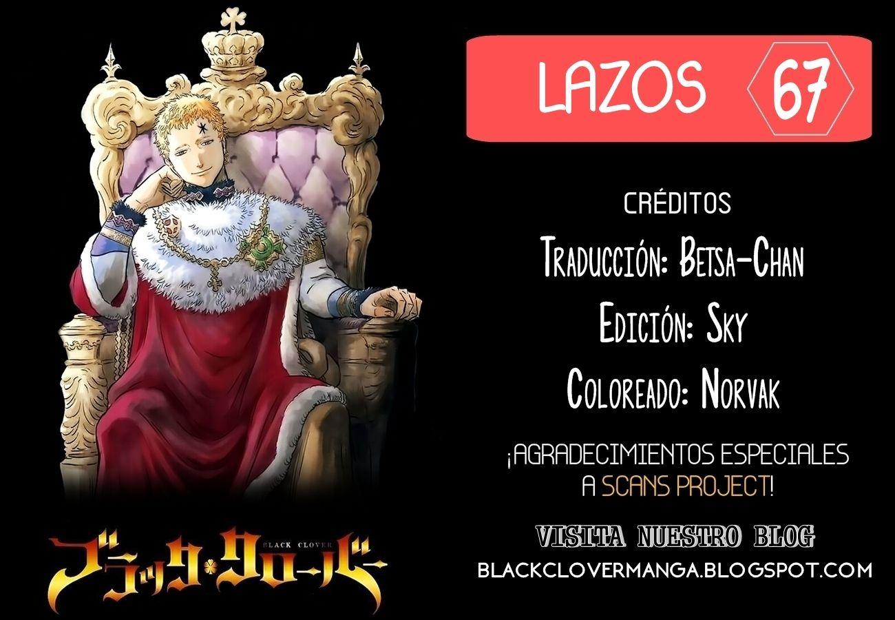 Black Clover· Black Clover Capítulo 67